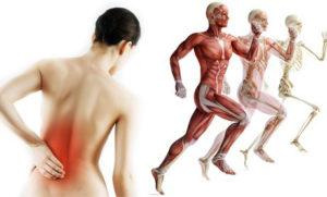 Острые или хронические болезни опорно-двигательного аппарата