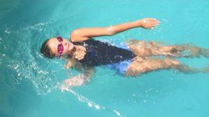 Плавание на спине
