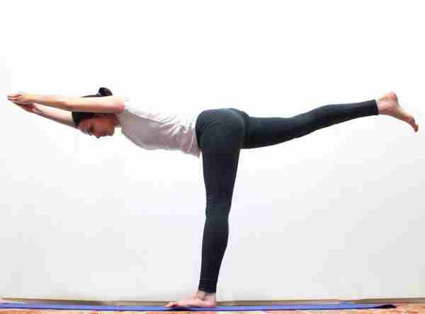 Вирабхадрасану III - позы Хатха йоги