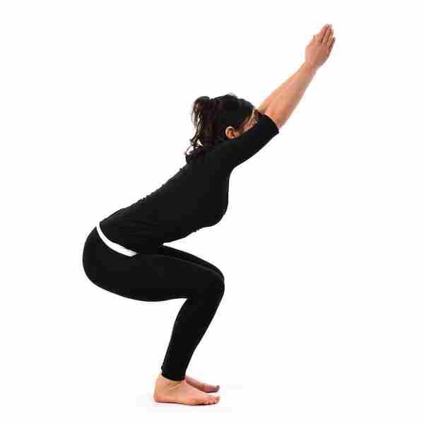Асана Стул -позы Хатха йоги