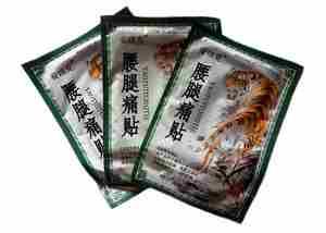 Китайский пластырь при остеохондрозе
