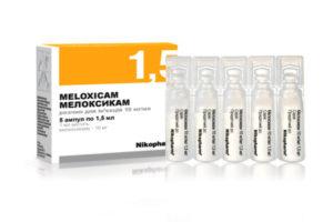 Эффективность Мелоксикама в лечении остеохондроза