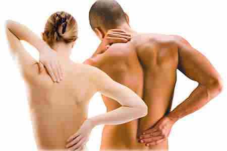 спина мужчины и женщины